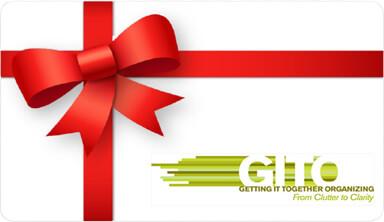 Organizing consultation Gift certificate